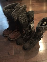 Girl's winter dress boots 2 pairs for $15 Mississauga, L5K 1H5