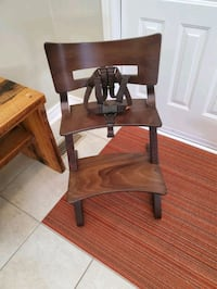 Solid wood  Leander highchair  Grimsby, L3M 1L3