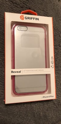 White and pink otterbox symmetry series case for iPhone 6 Plus Manassas, 20109