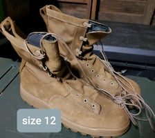 Winter tactical boots size 12