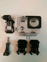 GoPro waterproof case and mounts + Dog harness  Vancouver, V5Z 2M9