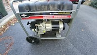 black and grey portable generator