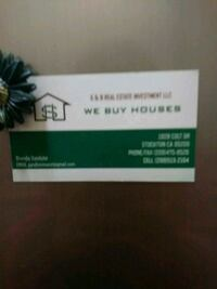 To Buy Your Property Stockton, 95209