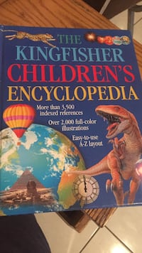 The Kingfisher Children's Encyclopedia box.