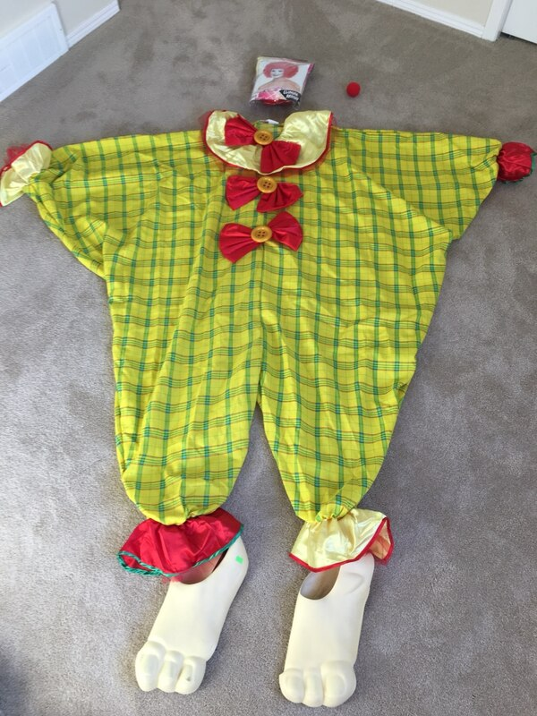 edbb09b7bba2 Used Adult s Clown Costume for sale in Calgary - letgo