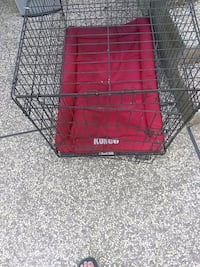 black metal folding dog crate Sacramento, 95821