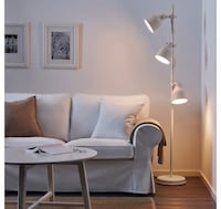 Floor lamp with 3 spotlights - white Vancouver, V5X