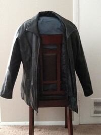 Vintage 1988 Wilson's Leather Thinsulate Jacket with removable Insulated vest.