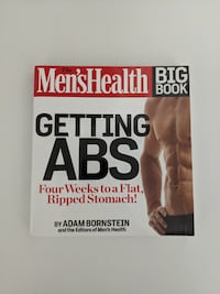 The Men's Health Big Book: Getting Abs - like new condition New Westminster