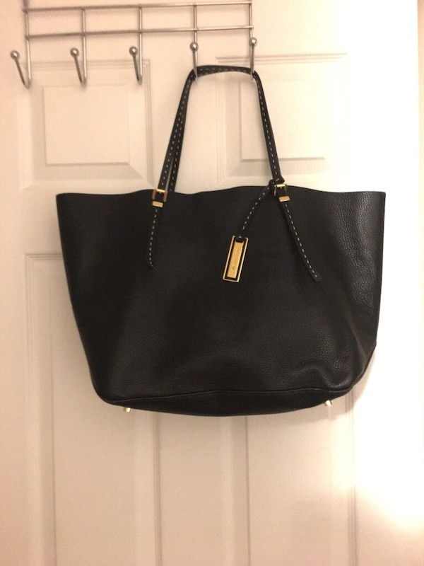 3e41fe0f562c0f Used Michael Kors limited edition black shoulder bag leather tote ...