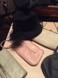 Vintage hats purses new and old Essa, L0M