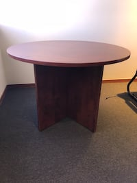 Round Pedestal Dining Office Table  Burbank, 91502