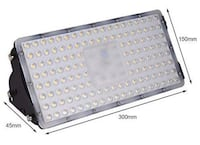 100W LED Flood Light, Outdoor Security Floodlights IP65, 10000LM Edison, 08817