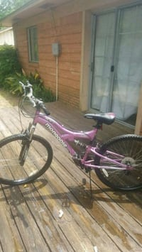purple and white full-suspension bike Tyler, 75701