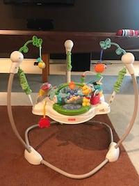 Baby's white and green jumperoo Austin, 78753