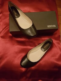 Shoes New Kenneth Cole Black-Leather lowfer Size 7 Elmwood Park, 60707