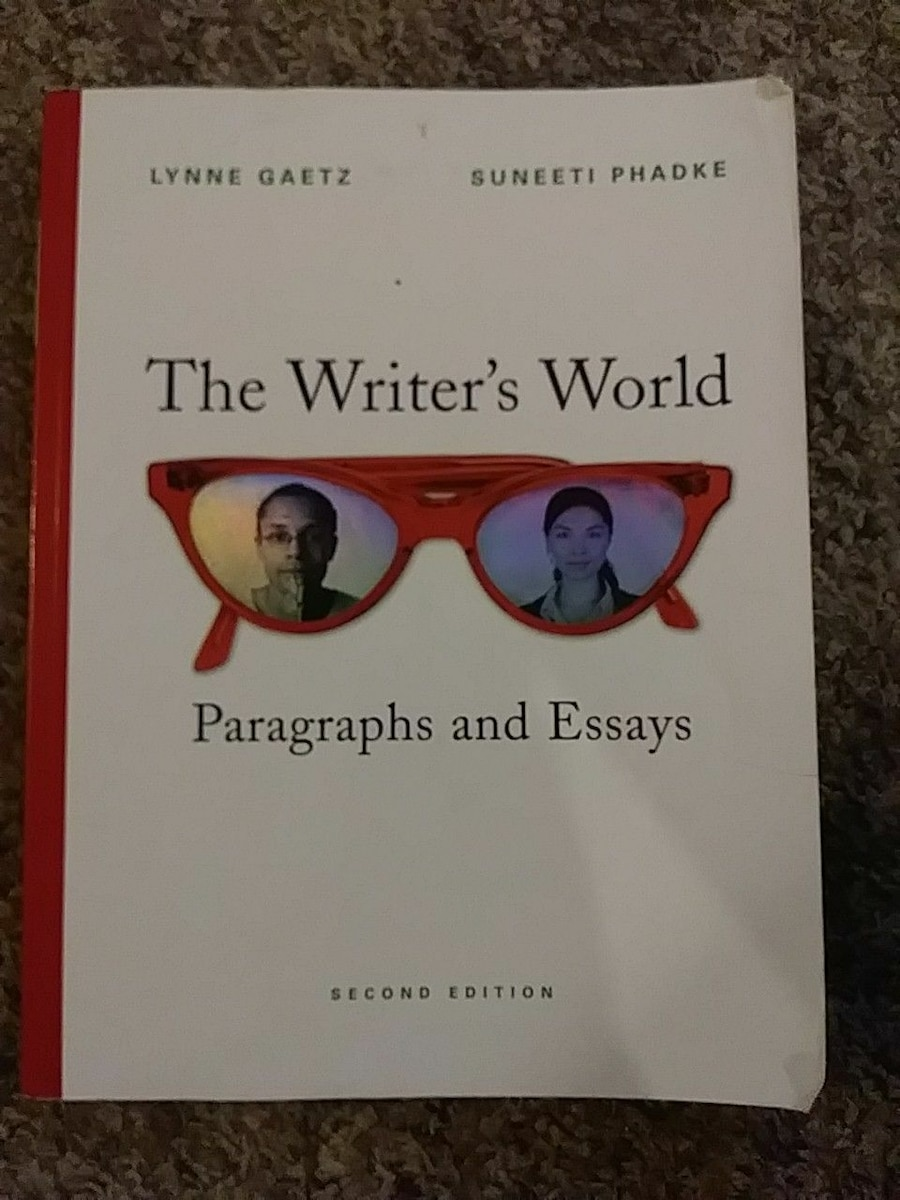 Writers world paragraphs and essays