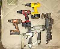 two red and black cordless power tools Cartersville, 30120