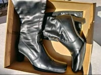 Ladies Black Leather Boots *  Size 6 $8 Lemon Grove, 91945