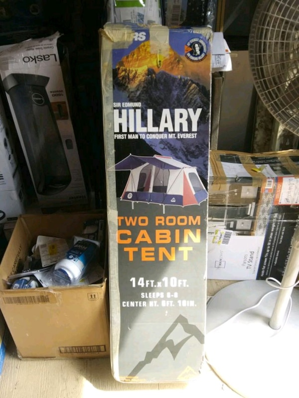 Used Sir Edmund Hilary Two Room Cabin Tent For Sale In North Rose