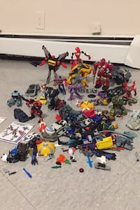 Collectible transformers and miscellaneous toys