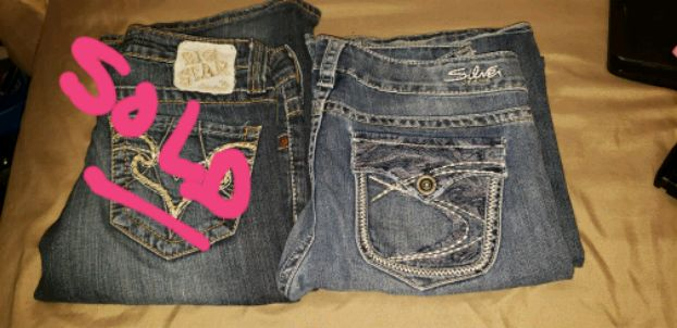 Photo Womens Silver jeans