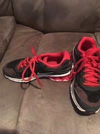 black-and-pink Nike running shoes Spring Hope, 27882