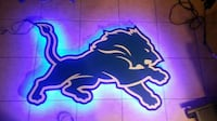"36"" DETROIT LIONS LED BACKLIT  Tucson, 85719"