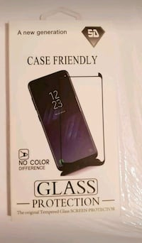 Glass cover... Samsung galaxy S9 39 km