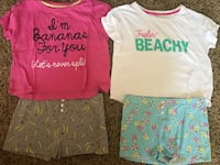 Girls Pajama Sets Lot - Size Small (Teen) - 83rd & K7, XP Lenexa, 66227