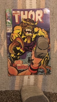 Marvel comics the mighty thor comic book Broadview Heights, 44147
