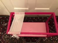 Pink doll bed with canopy Arlington