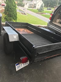 Black and gray utility trailer Bluefield, 24701