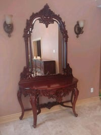 Mirror and base King City, L7B 1A3