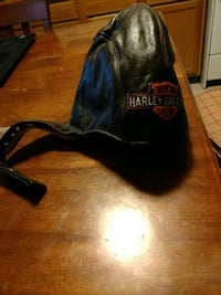 Harley Brown Leather Lined Skull Cap York, 17403