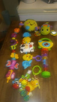 assorted-color plastic toy lot 279 mi
