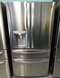Kenmore stainless steel French door freezer fridge Halethorpe, 21227