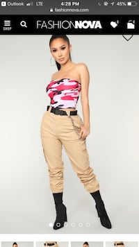 Fashion nova cargo pants Brampton, L6W 1S2