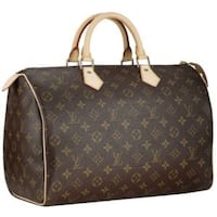 borsa in pelle Monogram marrone Louis Vuitton Roma, 00165