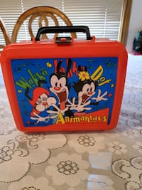 1994 Animaniacs lunch box Aladdin