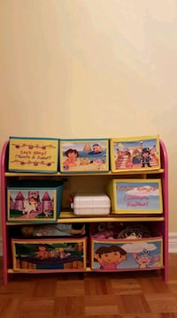 Dora shelf toy organizer  Toronto, M2R