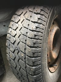 235/70/r16 with tires complete