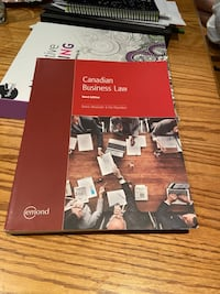 Business Law book - Humber College