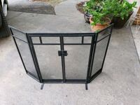 Black Metal Fireplace Grate Azle, 76020