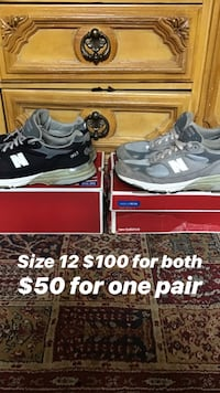 New balance size 12 Washington