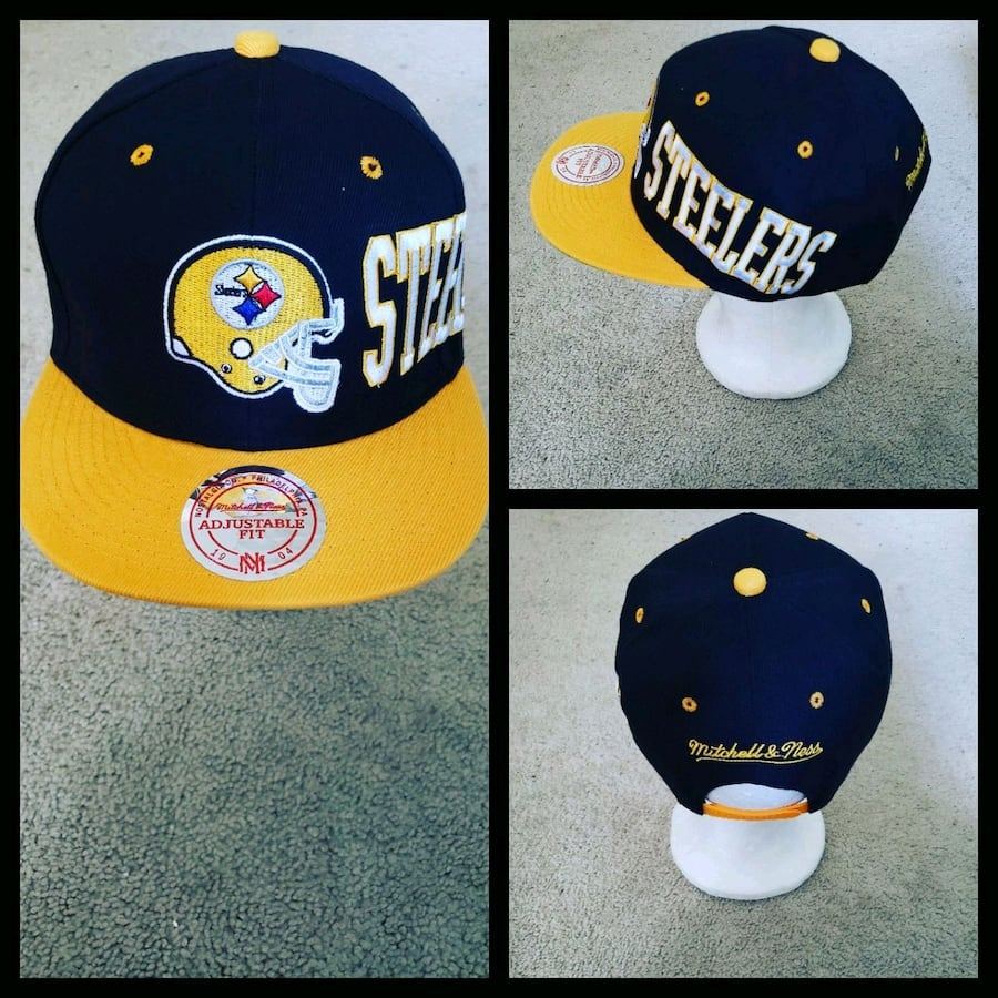 AUTHENTIC NFL FOOTBALL SNAPBACK HAT.