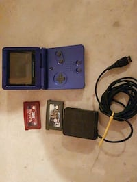 Gameboy SP with 2 Games  Edmonton, T6W 1A7