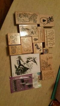 Christmas Rubber Stamp Collection Calgary, T2B 0J2