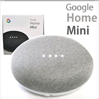 Google Home Mini Grey. Calgary, T3J 0M7