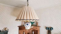Hanging lamp and table lamp